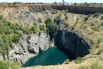 Big Hole, Kimberley Mine, Kimberley, Northern Cape