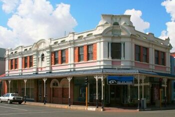 Period architecture - The Corner, Kimberley, Northern Cape