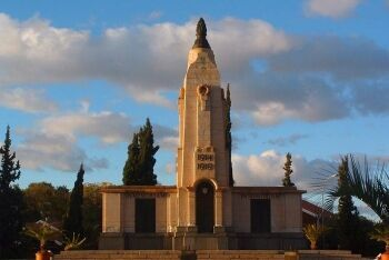 World War I memorial in Kimberley, Northern Cape