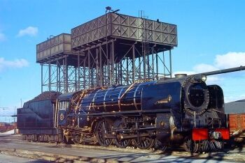 Steam locomotive, Beaconsfield, Kimberley, Northern Cape